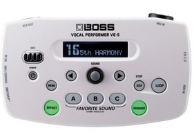 BOSS VE5 WH White