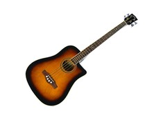 EKO NXT Bass D CW Eq Brown Sunburst