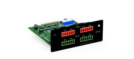 Bose® PowerMatch® AES3 8‐Ch. Inp.Card