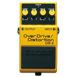 BOSS OS-2 Overdrive Distorsion
