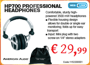 American Audio HP700