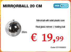 American Audio MirrorBall