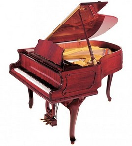 Niedermeyer GP 186 Breeze Chippendale grand piano